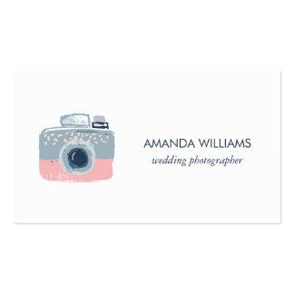 Stylish Professional Wedding Photographer Business Card