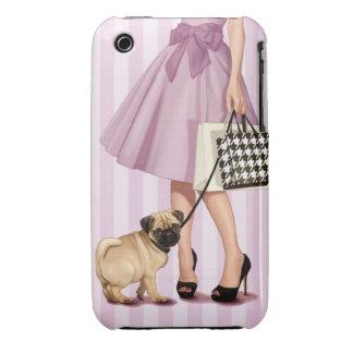 Stylish promenade iPhone 3 case