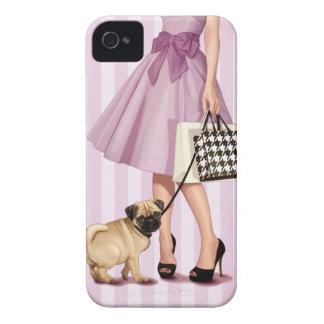 Stylish promenade iPhone 4 case