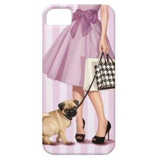 Stylish promenade iPhone 5 case