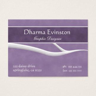 Stylish Purple Business Card