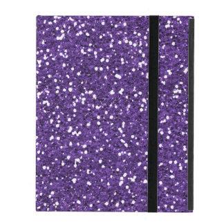 Stylish Purple Glitter iPad Covers