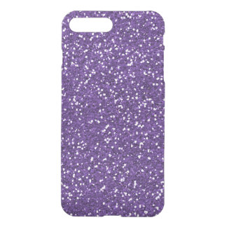 Stylish Purple Glitter iPhone 7 Plus Case