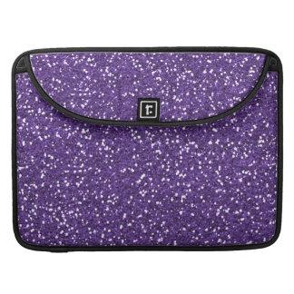 Stylish Purple Glitter Sleeve For MacBook Pro