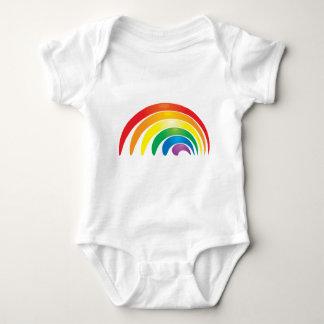 Stylish Rainbow Baby Bodysuit