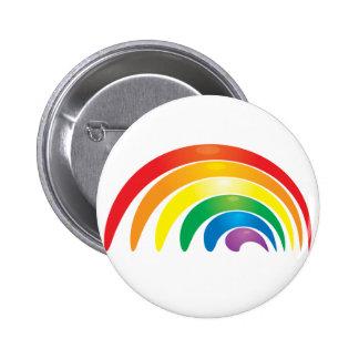 Stylish Rainbow Button