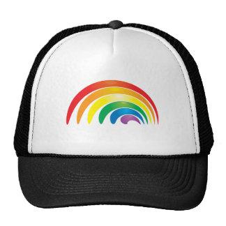 Stylish Rainbow Trucker Hats