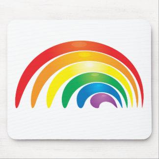 Stylish Rainbow Mouse Pad
