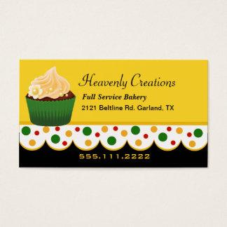 Stylish Rasta Colors Bakery Business Card