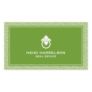 Stylish Realtors Modern Glamour Business Card I Pack Of Standard Business Cards