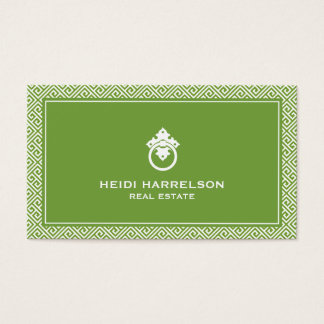Stylish Realtors Modern Glamour Business Card I