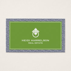 Stylish Realtors Modern Glamour Business Card Iii at Zazzle