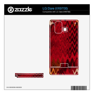 stylish red black abstract background LG dare decals