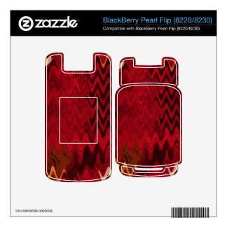 stylish red black abstract background BlackBerry pearl skins
