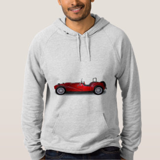 stylish red car hoodie