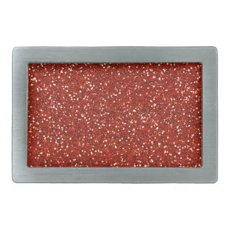 Stylish  Red Glitter Belt Buckles