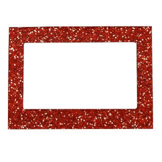 Stylish  Red Glitter Magnetic Frame