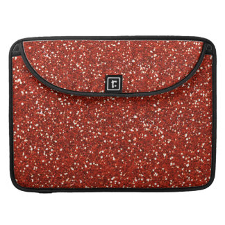 Stylish  Red Glitter Sleeves For MacBooks
