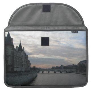 Stylish Rickshaw Flap Sleeve with sunset in Paris