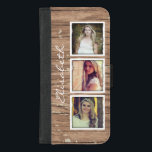 "Stylish Rustic Wood Look Instagram Photo Collage iPhone 8/7 Plus Wallet Case<br><div class=""desc"">Style your iPhone to be as classy with this &quot;Stylish Rustic Wood Look Instagram Photo Collage&quot; Unique Wallet Cover and make it more than just protective casing. This case is a perfect way to show off your favorite photos. If you need further customization, please click the &quot;Customize it&quot; button and...</div>"