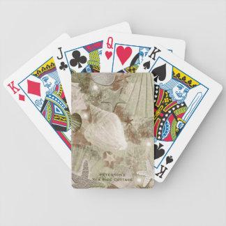 Stylish Sea Shell Custom Playing Cards