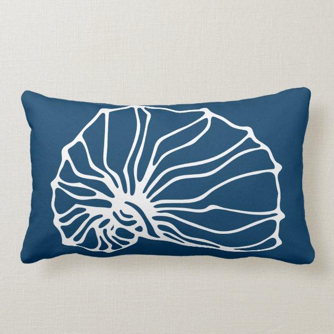 Stylish Sea Shell Pattern - Teal Blue Ocean Theme