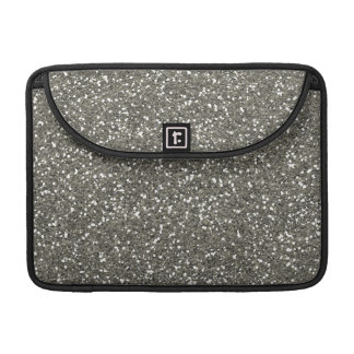 Stylish Silver Glitter Sleeve For MacBook Pro