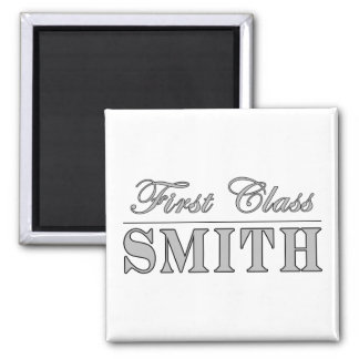 Stylish Smiths : First Class Smith Refrigerator Magnet