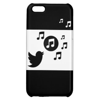 Stylish Songbird Black and White iPhone 5C Cover