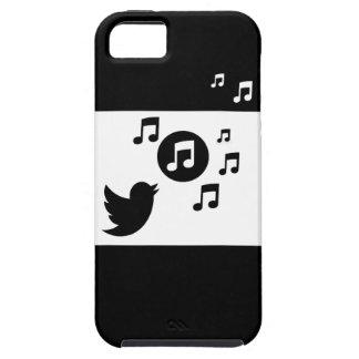 Stylish Songbird Black and White iPhone SE/5/5s Case