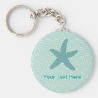 Stylish Starfish Keychain