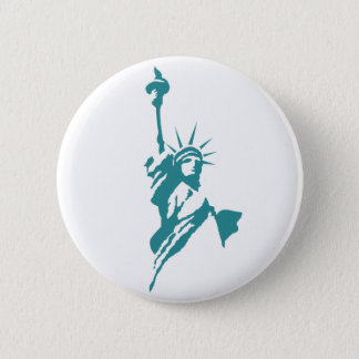 Stylish Statue of Liberty Button