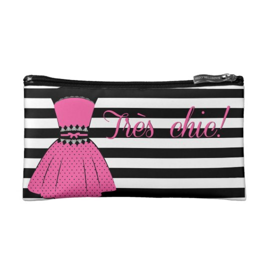 5dfb9894dc0e Stylish Striped Small Cosmetic Bag