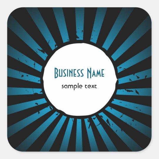 Stylish Stripes Business Sticker
