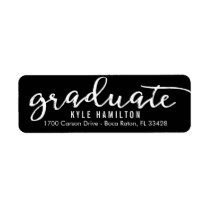 Stylish Strokes Editable Color Graduation Label