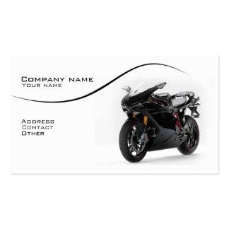 Stylish superbike business card