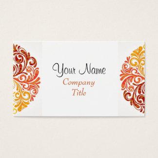 Stylish Swirls Business Cards