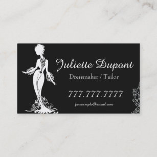 Wardrobe Business Cards Templates