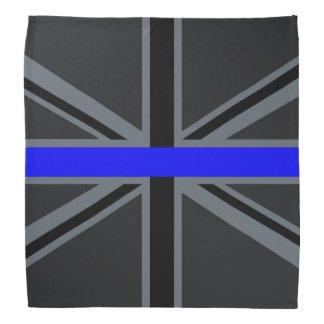 Stylish Thin Blue Line Union Jack Bandana