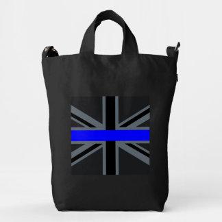 Stylish Thin Blue Line Union Jack Duck Bag
