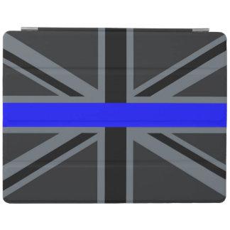 Stylish Thin Blue Line Union Jack iPad Cover