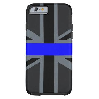 Stylish Thin Blue Line Union Jack Tough iPhone 6 Case