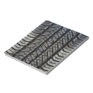 Stylish Tire Rubber Automotive Texture Notepad