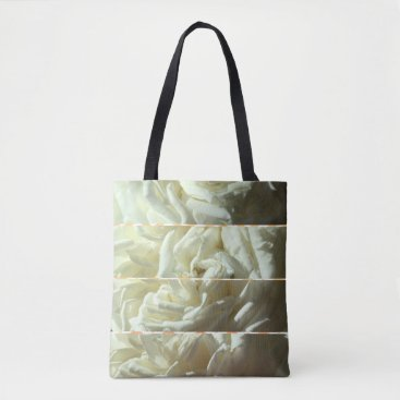Beach Themed Stylish tote decorated with beautiful roses