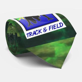 Stylish Track & Field Running Neck Tie