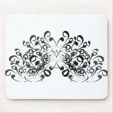 Professional Business Stylish_Tradiononal-Decor-(c) Fan_Curls_ Mouse Pad