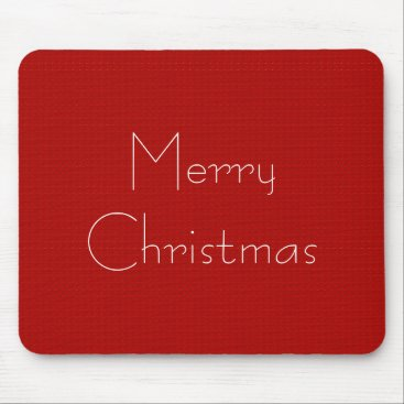 Professional Business Stylish_Tradiononal-Decor-(c) Merry Christmas Mouse Pad