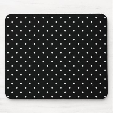 Professional Business Stylish_Traditional-Decor--Classic-Polka-Dots Mouse Pad