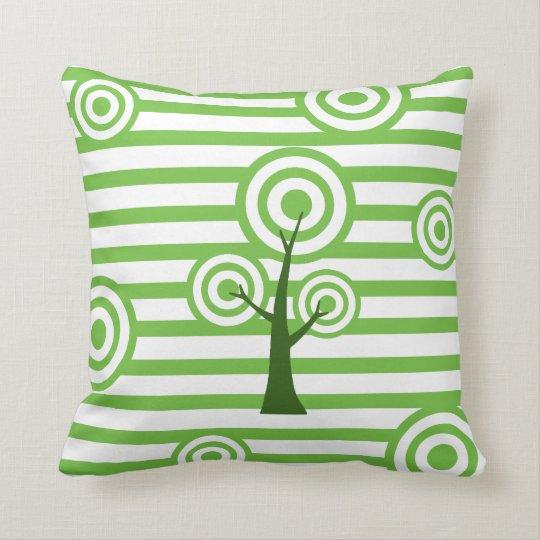 Stylish Tree Design Throw Pillow