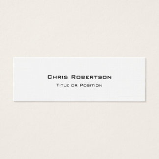 Stylish Trendy Charming Business Card